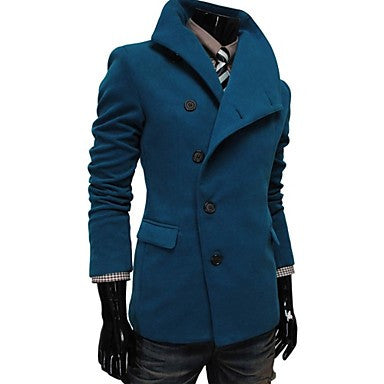 Men's Lapel Fashion Double Breasted Coat