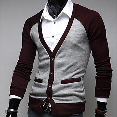 Men's Fashion Sweater Long Sleeve Casual Cardigan