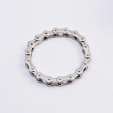 Fashion Men's Silver 316L Stainless Steel Motorcycle Chain Bracelets