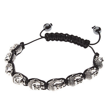 Men's Cool Buddha Beaded Bracelace
