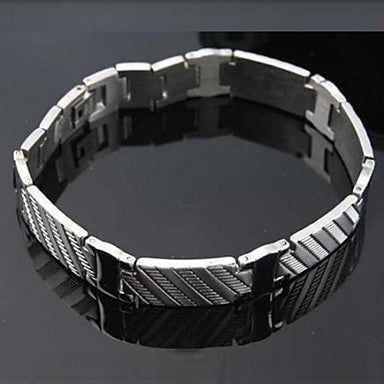 Men's Fashion Personality Handsome Titanium Steel Bracelets
