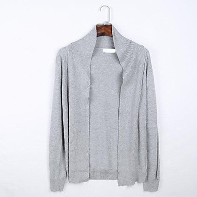 Men's Henlyneck Long Sleeve Casual Sweaters
