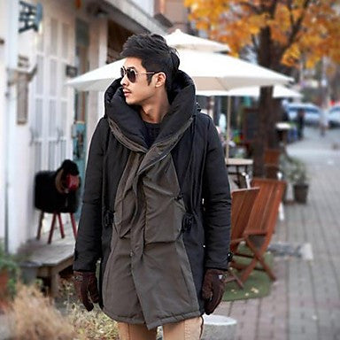Men's Fashion Slim design hooded Coat