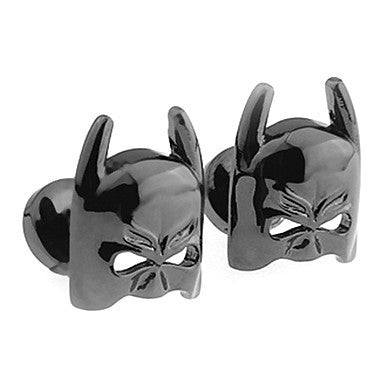 Men's Black Animal Cufflinks(2 PCS)