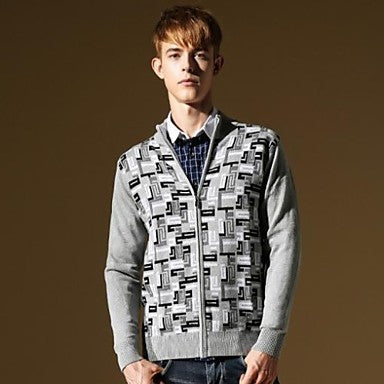 Men's New Arrives Slim Fit Fashion Korea Stylish Casual Knitwear Sweater