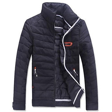 Men's Slim Stand Casual Coat