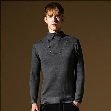 Men's New Top Quality Slim-fit Casual Stylish Fashion Knitted Sweater
