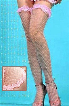 Pinks Hosiery Lace Fishnet Sexy Lingeries