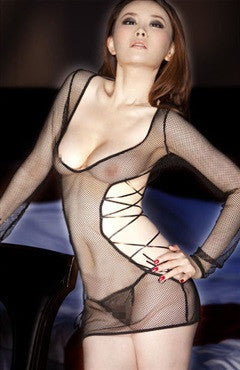 Fishnet Chemise/Slip Sets Sexy Lingeries