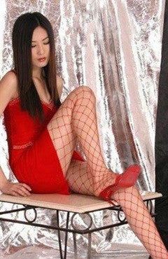 Fishnet Hosiery Reds Sexy Lingeries