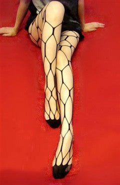 Black Fishnet Hosiery Sexy Lingeries