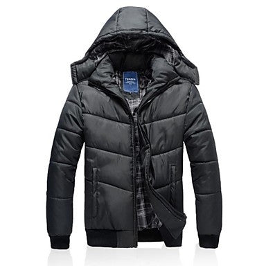 Men's New Fashion Hooded Long Sleeve Casual Thick Coats