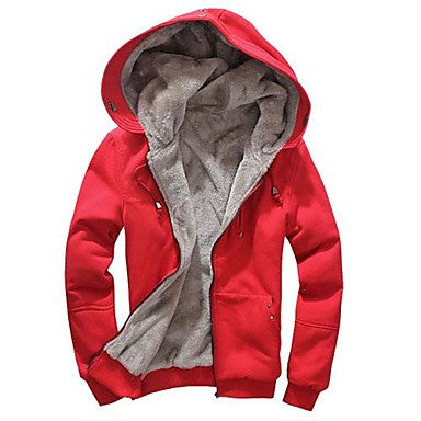 Men's Fashion Leisure Long Sleeve Hoodies Outerwear