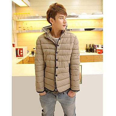 Men's Fashion Pure Coat