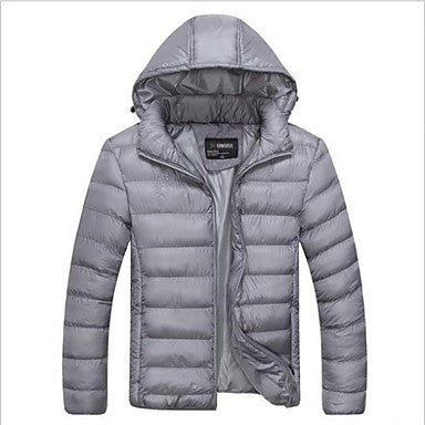 Men's New Autumn&Winter Cotton Warm Thicken Fashion Stylish Long Sleeve Quality Outwear Coat