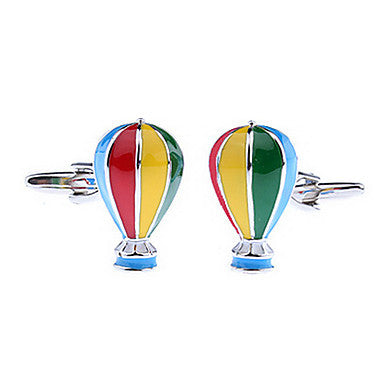 Men's Fire Balloon Toy Cufflinks(2 PCS)