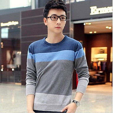 Men's Long Sleeve Men Knit Sweater Cardigans
