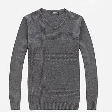 Men's V Neck Pullover Sweater(More Colors)