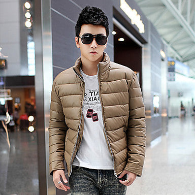 Men's Stylish Hot Selling Stand Collar Coat