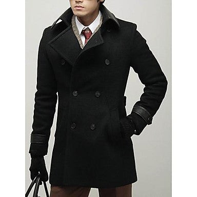 Men¡¯s Fashion Double-Breasted Dust Coat