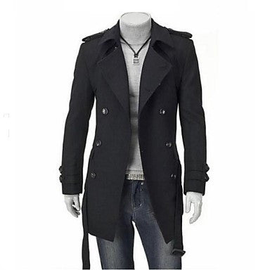 Men's Fashion Double Breasted Coat