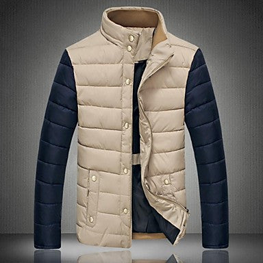 Men's Popular Double Collar Casual Cotton Coat