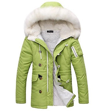 Men's Slim Hoodies Fashion Coat