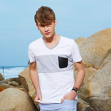 Men's Summer Short-Sleeved T-shirt
