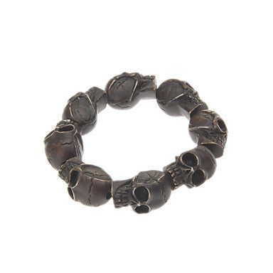 Cool Skull Style Ox Bone Bracelets (1 pc)