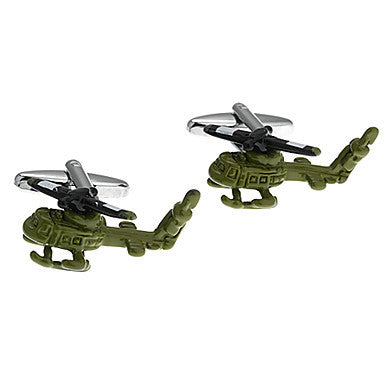 Men's Airplane Toy Cufflinks(2 PCS)