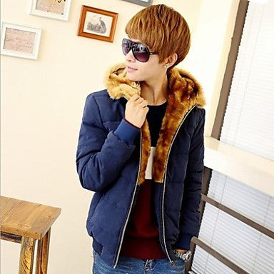 Men's New Winter Fashion Slim-fit Thicken Casual Stylish Long Sleeve Outwear Coat