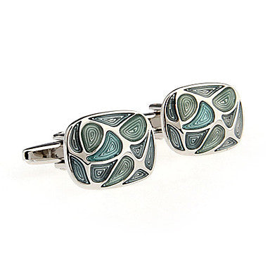 Three Color Unisex Cufflinks