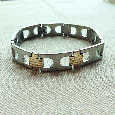 BRA0018 - Fashion 22 CM Man Titanium Steel Bracelet