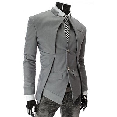 Men's Asymmetric Slim Small Suit