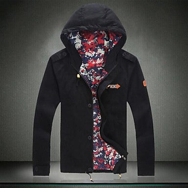 Men's Explosion Hooded Jacket