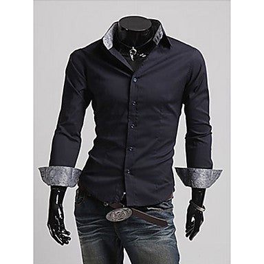 Men's Graceful Msly Long Sleeve Shirts