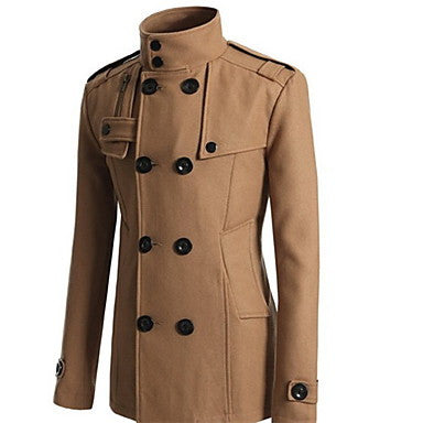 Men's Double Breasted Fashion Coat