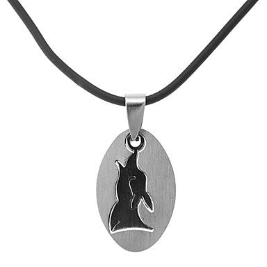 Classic Ellipse Animal Shape Men's Pendant Necklace(1 Pc)