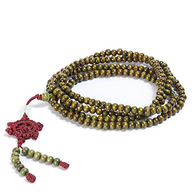 Natural Green Wingceltis 216 Prayer Beads Bracelets