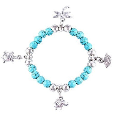 Bohemian Style Retro Turquoise Small Accessories Bracelet