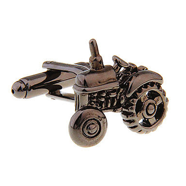 Men's Alloy Bronze Tractor Cufflink(1 pair)