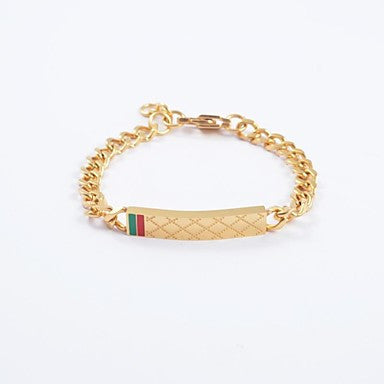 Euramerican Fashion High Quality Titanium Steel Chain Cable Bracelets
