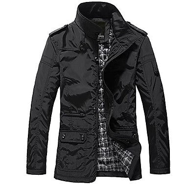 Men's Winter Thick Section Quilted Jacket