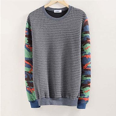 Men's Casual Round Long sleeve Fleeces