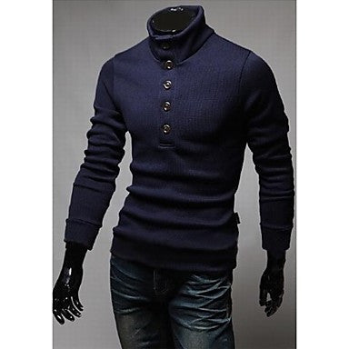 Men's Single-Breasted Sweater