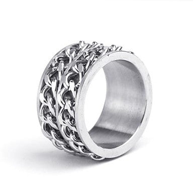Mumar Fashionable Stainless Steel Men¡®s Rings