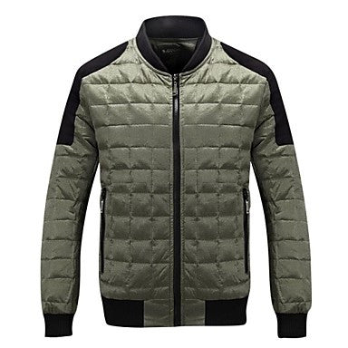 Men's New fashion down jacket leisure coat to keep warm coat