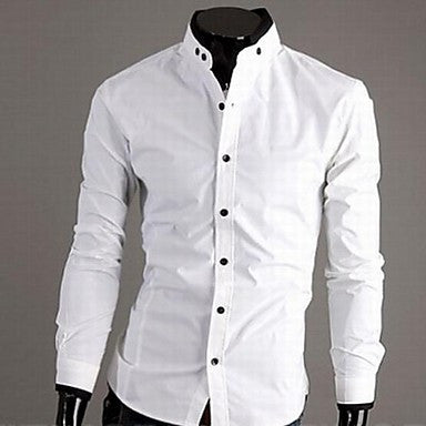 Men's Casual Shirt Collar