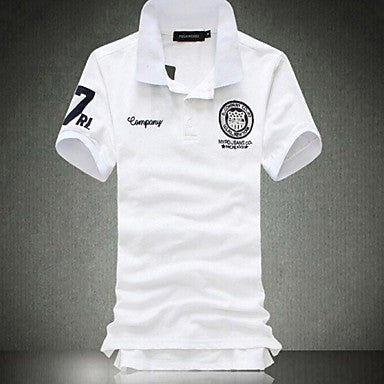 Men's Casual Fashion Short Sleeved Polo Shirt (More Colors)