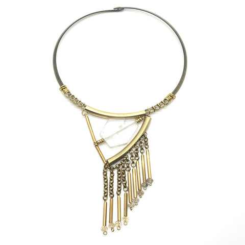 Hermera Necklace - Quartz